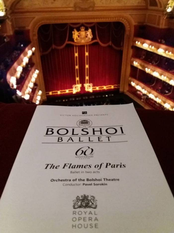 Paris Burns and the Russians Dance: The Bolshoi in London